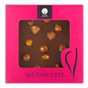 Milk chocolate bar with whole hazelnuts 100 gr